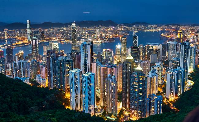Hong Kong - View from the Peak