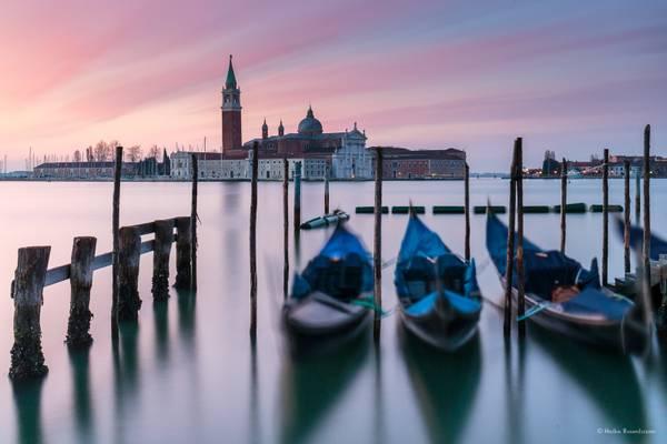 Dawn light in Venice