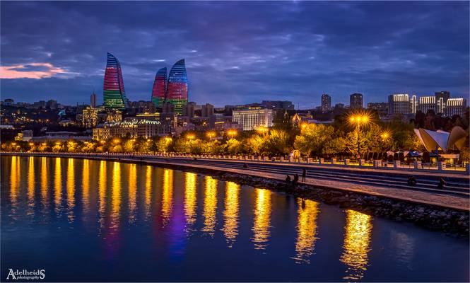 Flame Towers, Baku