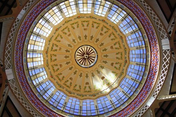 Central Market dome, Valencia