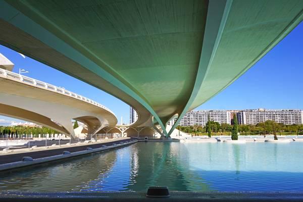 Under Monteolivete bridge