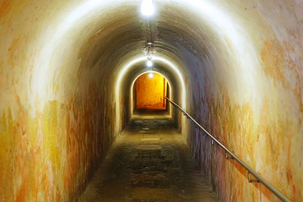 Tunnel of Fort San Cristobal, Puerto Rico