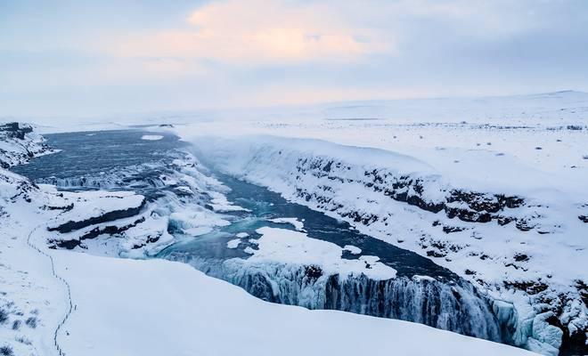 Gullfoss (Golden Falls), Iceland