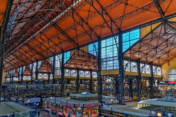 The Great Market Hall, Budapest