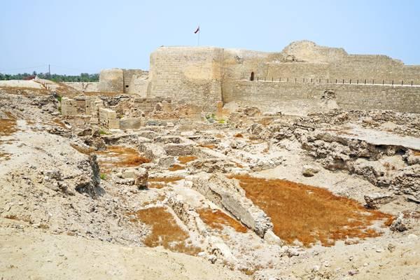 Qal'at al-Bahrain fortress, Bahrain