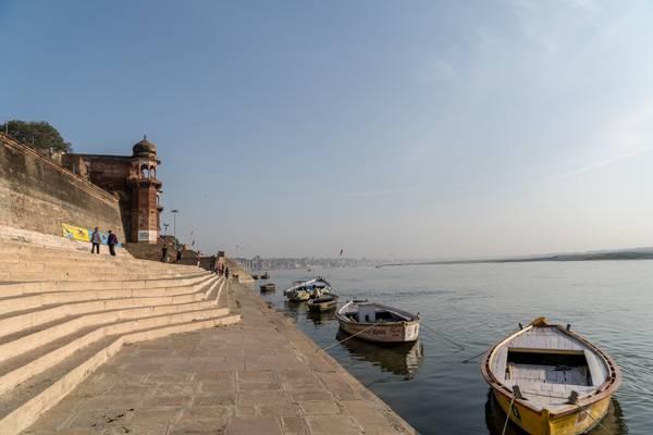 At the Ganges - Varanasi