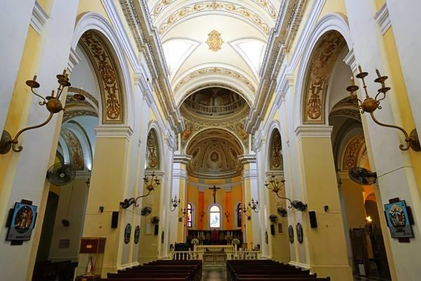Interior of the Cathedral San Juan Bautista, Puerto Rico