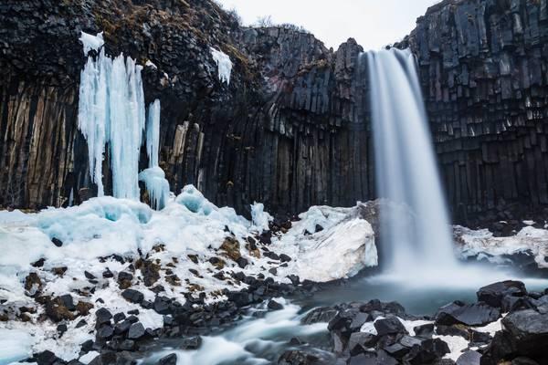 Iceland 2016 Svartifoss