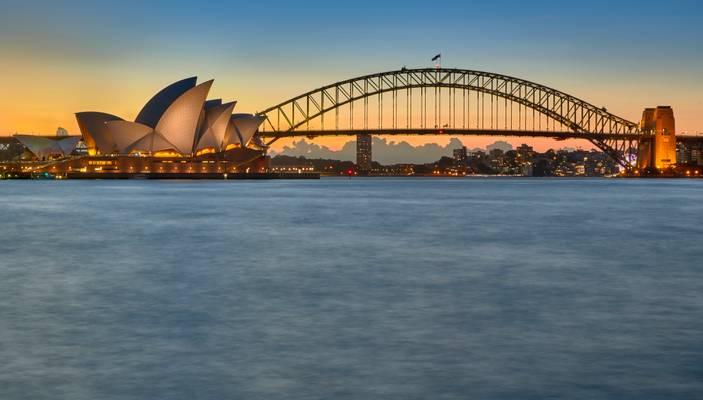 Sydney Opera House and Harbour Bridge - Australia