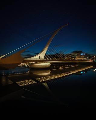 Irland, Dublin, Samuel Beckett Bridge