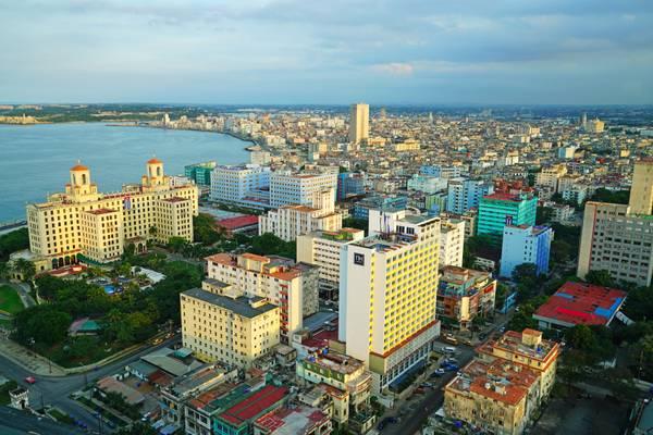Roofs of Havana, Cuba