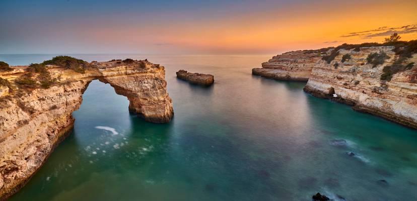 Albandeira Beach Sunset – Algarve, Portugal