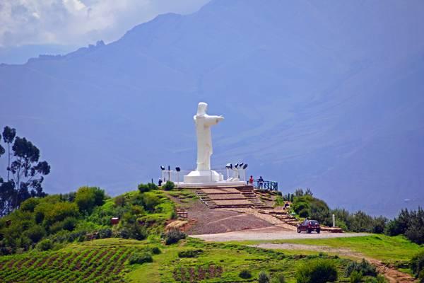 Cristo Blanco, Saksaywaman