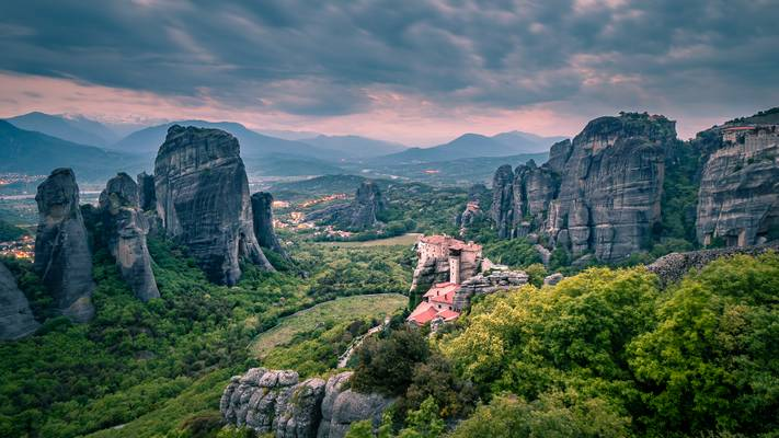 Meteora - Rousánou Monastery
