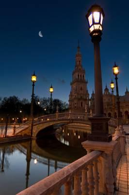 Blue hour in Sevilla