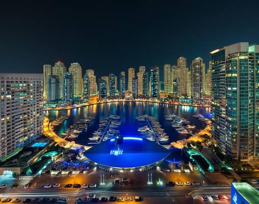 Welcome to the Dubai Marina Show!