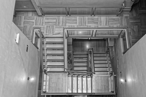 Central staircase in Palacio Del Marques De Dos Aguas (Ceramics Museum)