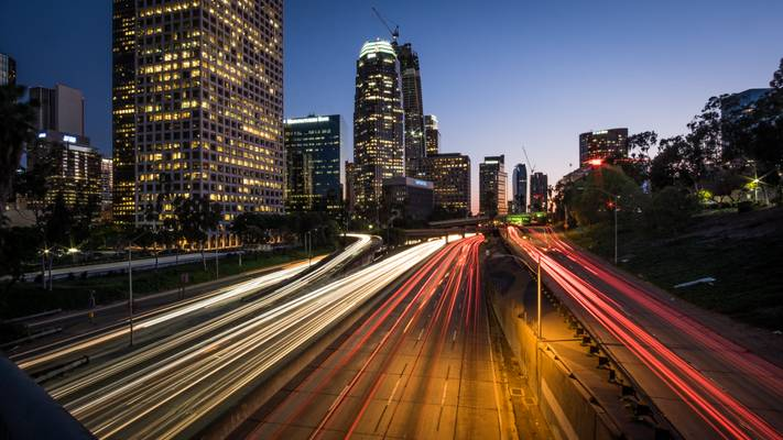 Highway 110 - Los Angeles, United States - Cityscape photography