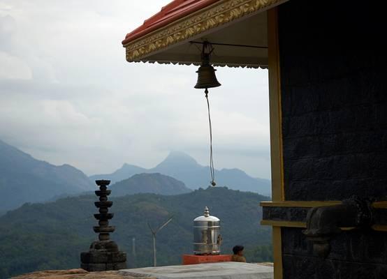 temple near Neyyar Dam