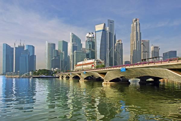 View across Marina Bay, Singapore