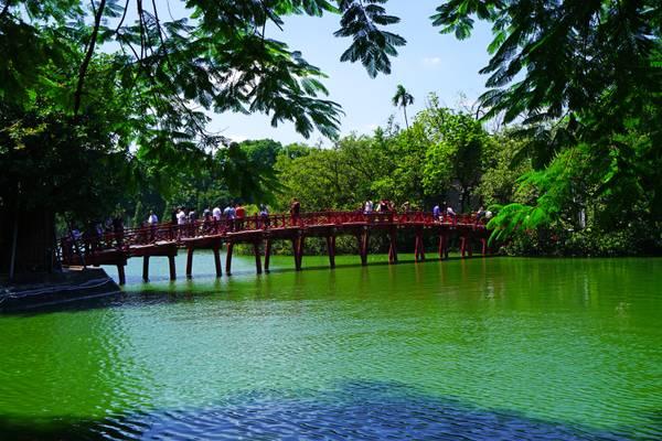 Red Bridge, Hoan Kiem Lake, Hanoi