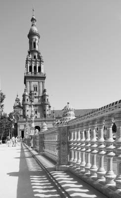 Plaza de Espana, Seville Andalucia, Spain