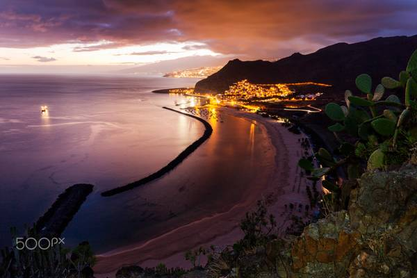 Playa de Las Teresitas on Tenerife