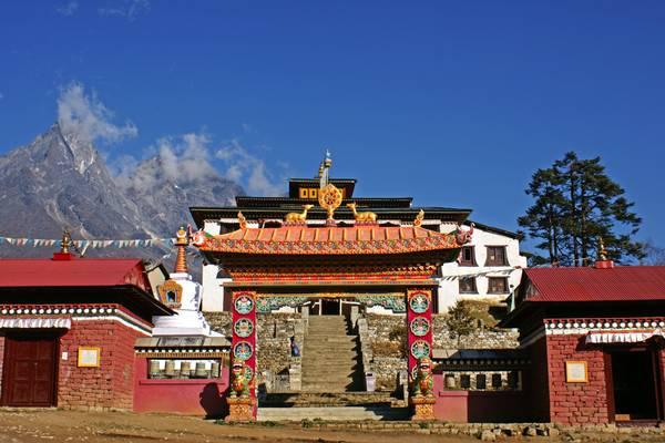 Tengboche monastery, Himalaya, Nepal