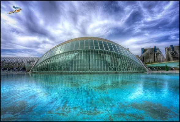 1851 - L'Hemisfèric (Ciutat de les Arts i de les Ciències)  València