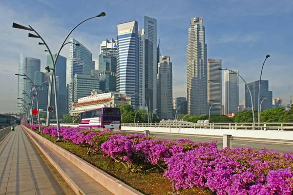 Along Esplanade Drive, Singapore