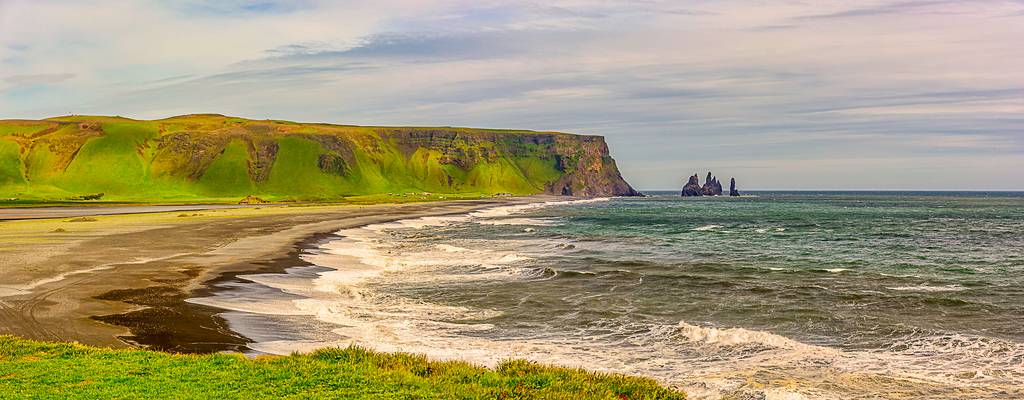 Coastal Iceland Panorama