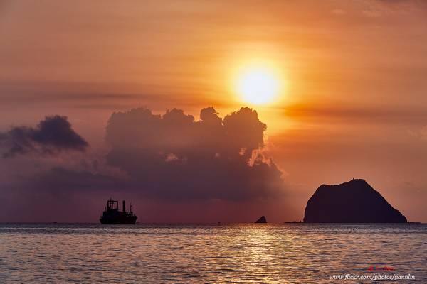 D5D_7020 日出基隆嶼 Sunrise at Keelung islet