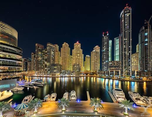 View from Dubai Marina Mall